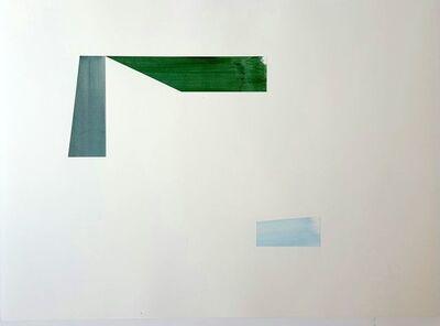 Agnes Barley, 'Untitled Collage (Grid Waves)', 2009