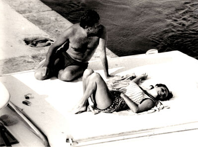 Marcello Geppetti, 'Liz Taylor and Richard Burton'
