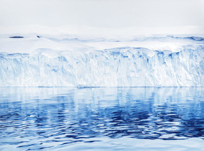 Zaria Forman, 'Disco Bay, Greenland (print)', 2019