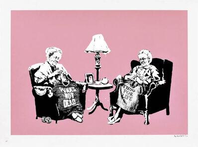 Banksy, 'Grannies (Signed)', 2005