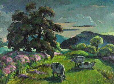 Frederick Buchholz, 'Eventide', 1960