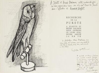 Bernard Buffet, 'Chouette', 1953