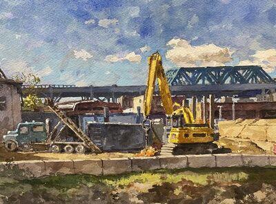 Derek Buckner, 'View of Ninth Street Bridge', 2020