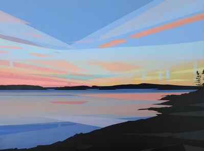 Greta Van Campen, 'Sunset, Grindstone Point', 2019