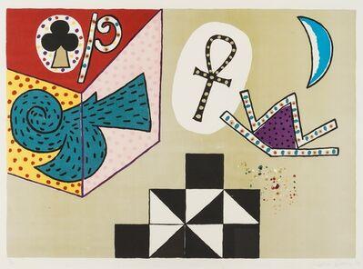Alan Davie, 'Bird Through Wall', 1973