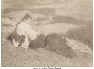 Heinrich Kühn, 'Tyrolean Landscape', circa 1900s