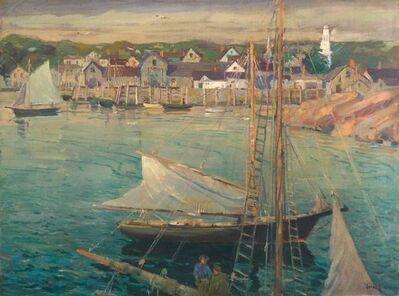 Jonas Lie, 'Morning Light, Rockport', ca. 1925