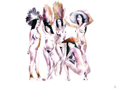 Nikita Shalenny, 'Mushrooms-prostitutes', 2015