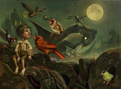Greg 'Craola' Simkins, 'Shoot the Moon', 2016