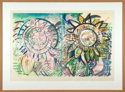 Pat Steir, 'Sunflowers', 1986