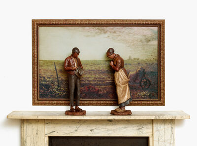 Nancy Fouts, 'The Angelus (after Millet)', 2014