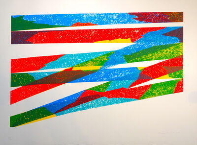 Piero Dorazio, 'Composizione a Colori', 1976