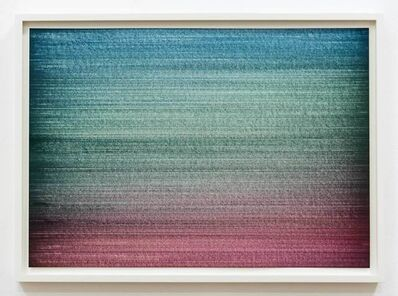 Ignacio Uriarte, 'Thin line drawing table drawing', 2019