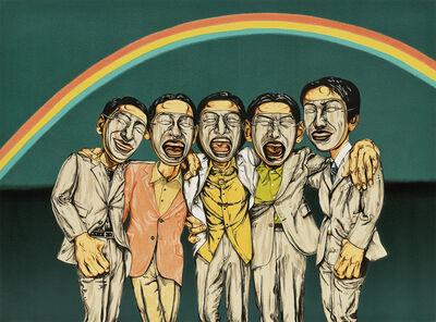 Zeng Fanzhi 曾梵志, 'Chorus', 2005
