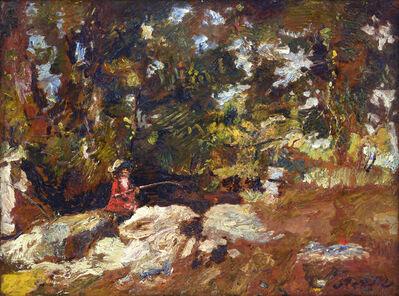 Adolphe Monticelli, 'Le pêcheur ', 1882-1883
