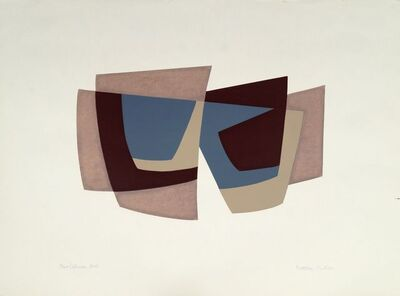 Kathleen Guthrie, 'Four Colours, Brown and Grey, Four Colours (Blue and Green), Grey and Brown and Green'