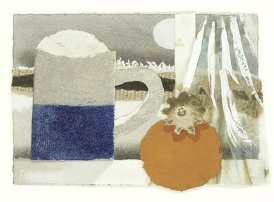 Mary Fedden, 'Mug and Persimmon', 1985
