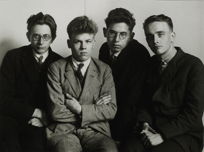 August Sander, 'Working Students, 1926'