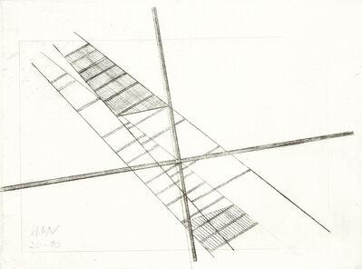 László Moholy-Nagy, 'Crossing Diagonals', early 1920s