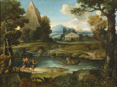 Giovanni Francesco Grimaldi, 'Flight into Egypt', Pre-18th Century