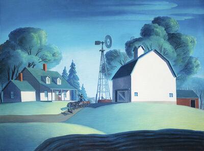 Dale Nichols, 'Farm Scene', 1948