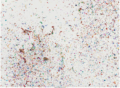 Dan Colen, 'Moments Like This Never Last', 2010