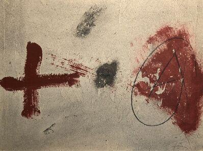 Antoni Tàpies, 'UNTITLED', ca. 1970