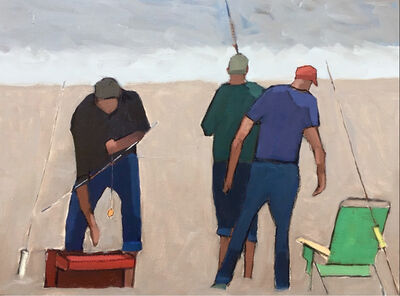 Nancy Colella, 'Surf Casters', 2018
