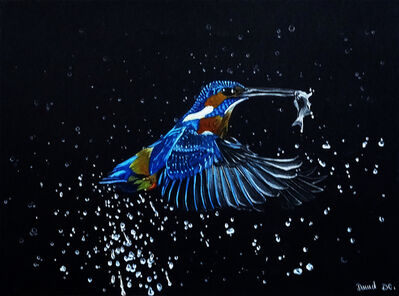 David Da Costa, 'the kingfisher and the fish', 2019