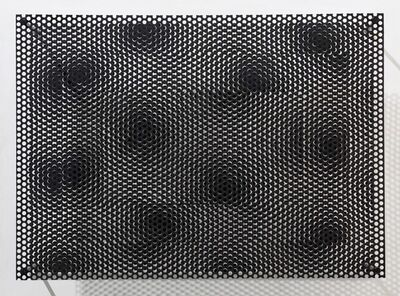 Antonio Asis, 'Vibrations sur carres No 1590', 2006