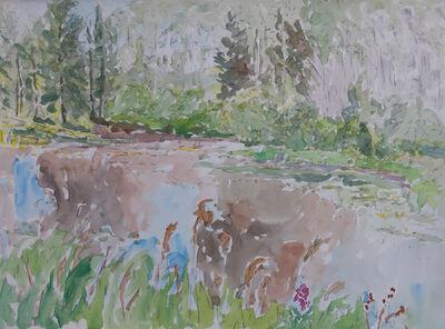 Dorothy Knowles, 'Waterlilies at Angel Lake'
