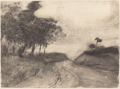 Edgar Degas, 'The Road (La route)', ca. 1878/1880