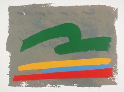 Jack Bush, 'Green Loop', 1971