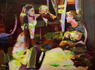 Joshua Hagler, 'Waiting For The Night Itself To Enter Through The Window', 2017