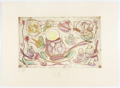 Claes Oldenburg, 'Ice Cream Desserts (A)', 1976