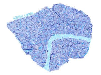 Jess Wilson, 'Central London Map', 2015