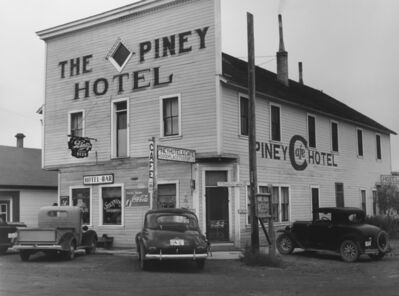 Marion Post Wolcott, 'Hotel in Big Piney, Wyoming', 1941