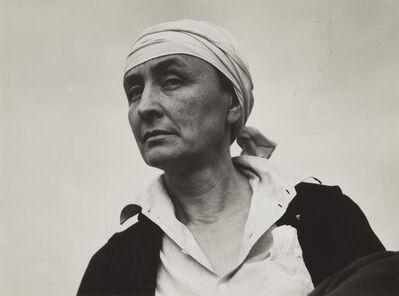 Alfred Stieglitz, 'Georgia O'Keeffe', 1936