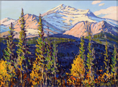 William Duma, 'Snow in the Mtns (5-21)', 2021