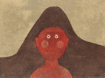 Rufino Tamayo, 'Cabeza en Rojo HC', 1979