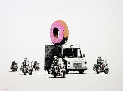 Banksy, 'Donuts (pink)', 2009