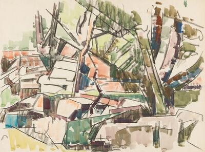 Herbert Barnett, 'Mill Ruin [East Princeton, MA]'