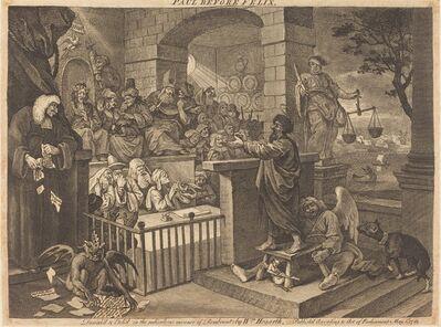 William Hogarth, 'Paul before Felix Burlesqued', 1751