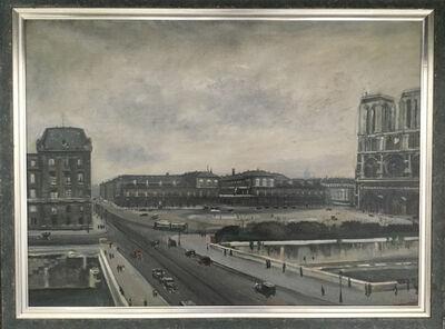 "Lucien Adrion, '""Notre Dame""', 1920"
