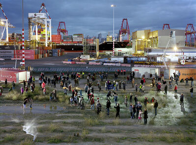 Simon Terrill, 'Crowd Theory: Port of Melbourne', 2013