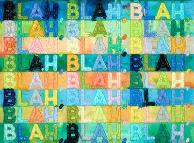 Mel Bochner, 'Blah, Blah, Blah', 2016