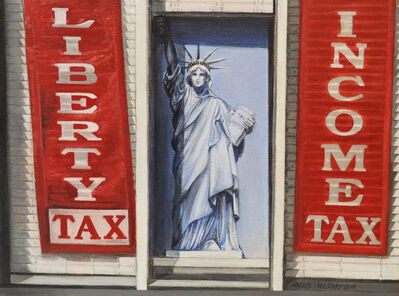 Shirley Rabe' Masinter, 'Liberty Tax', 2017