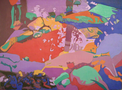 Ralph Wickiser, 'The Ephemeral Stream', 1992