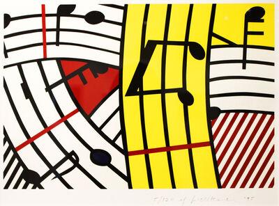 Roy Lichtenstein, 'Musical Notes (Composition IV)', 1995