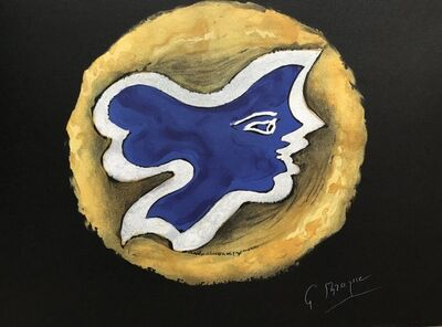 Georges Braque, 'Oedipe Roi: Hécate', 1988
